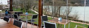 Terraza y restaurante Etxeberri